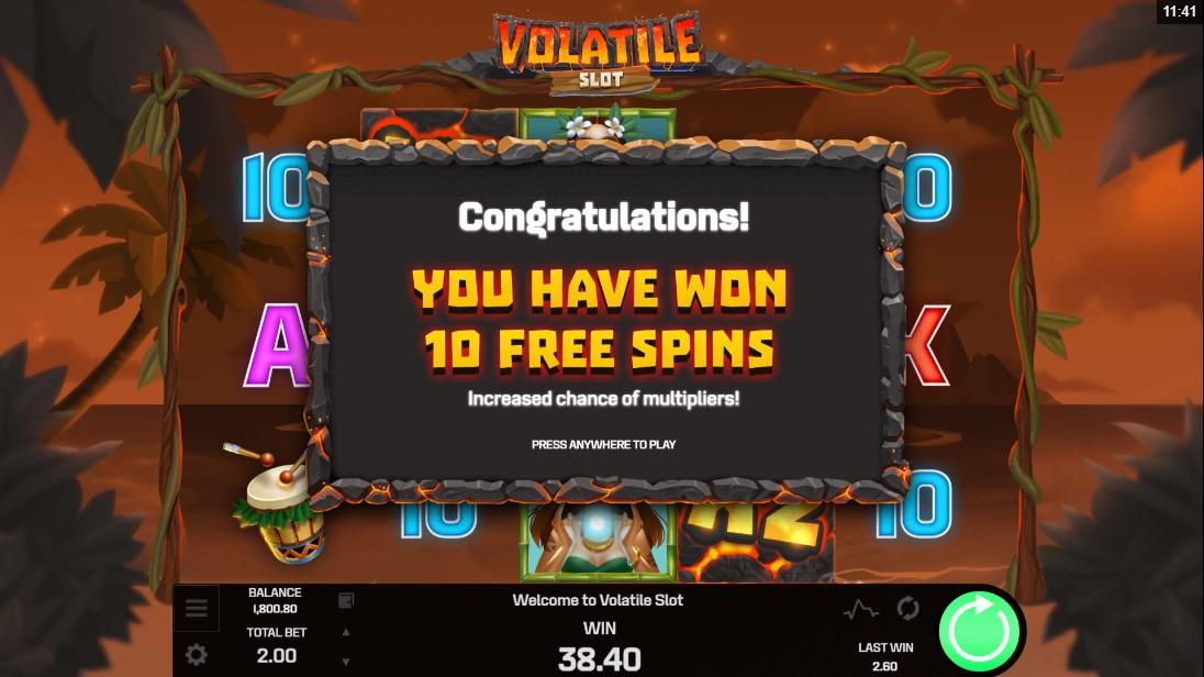 Онлайн слот Volatile Slot