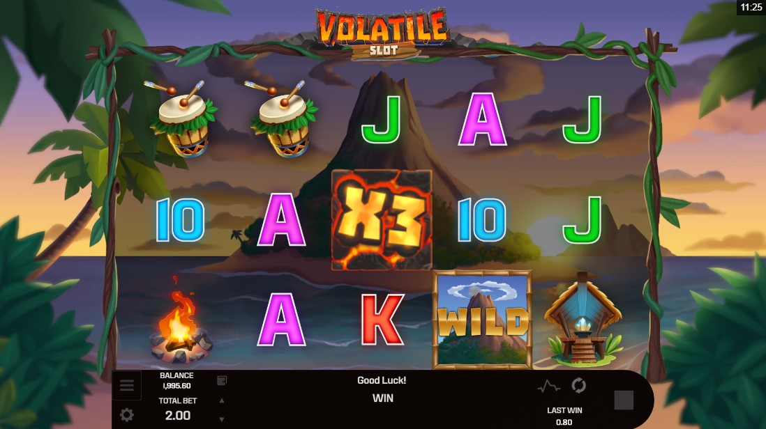 Volatile Slot онлайн игровой автомат