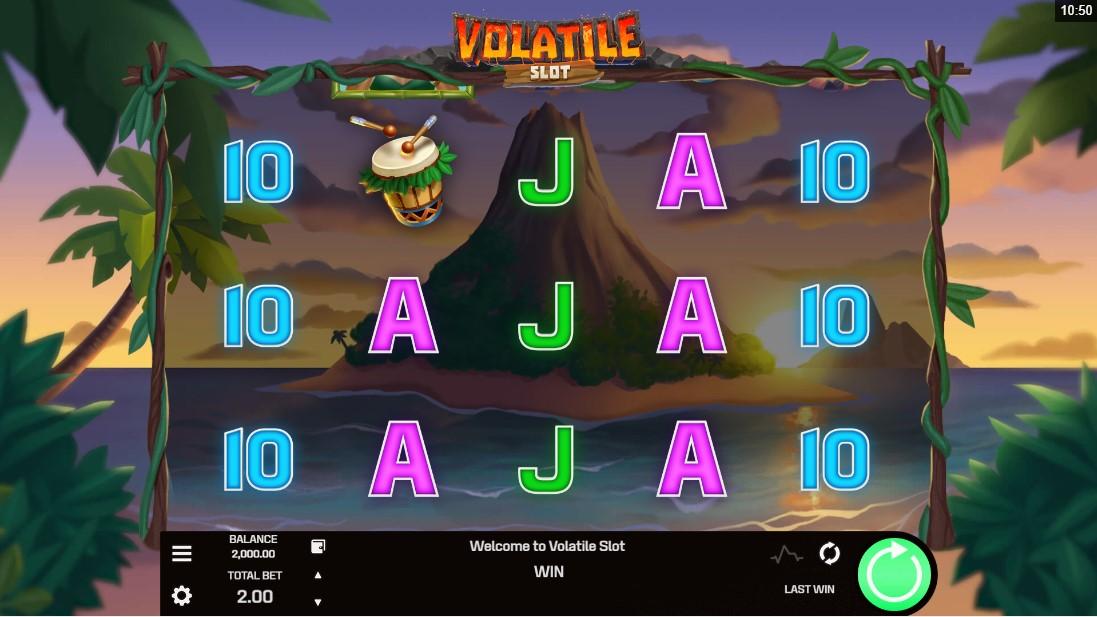 Volatile Slot играть бесплатно