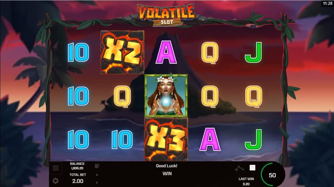 Слот Volatile Slot играть