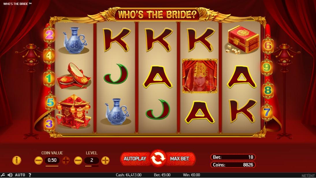 Who's The Bride играть бесплатно