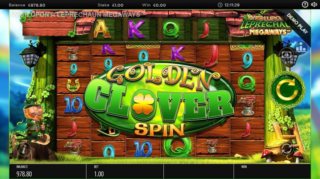 Игровой автомат Wish Upon a Leprechaun