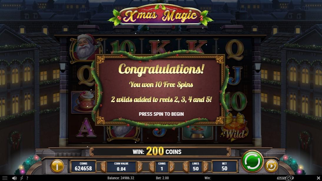 Слот Xmas Magic играть