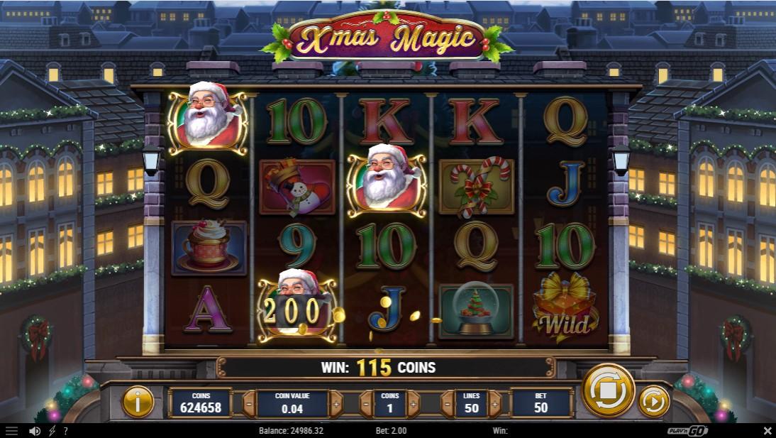Xmas Magic играть бесплатно