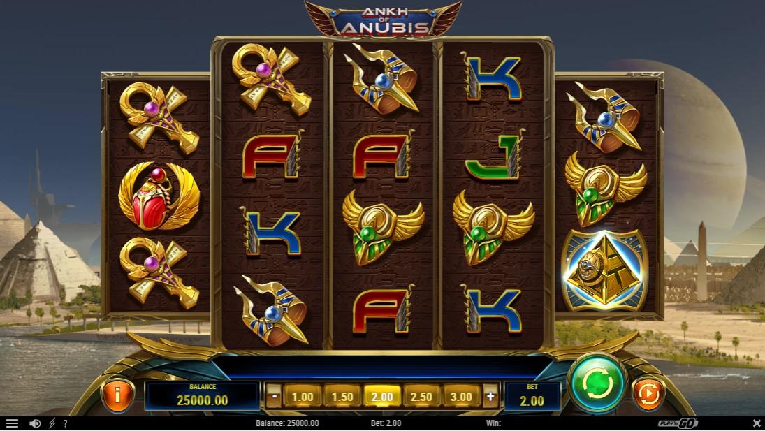 Слот Ankh of Anubis играть