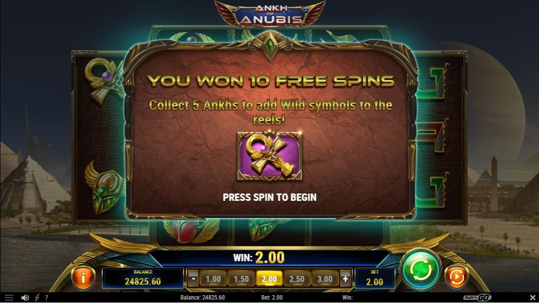 Ankh of Anubis бесплатный игровой автомат