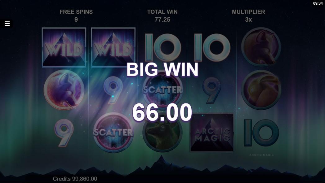 Играть бесплатно Arctic Magic