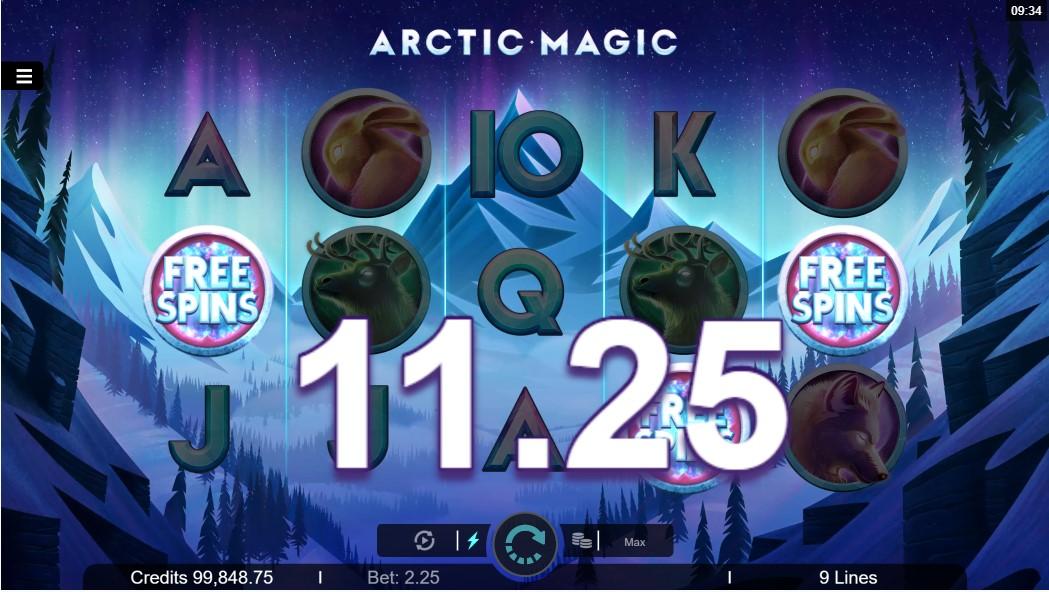 Слот Arctic Magic играть онлайн