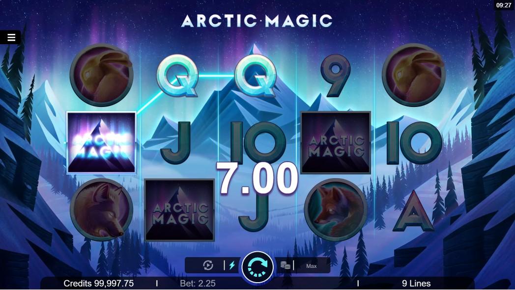 Онлайн слот Arctic Magic играть