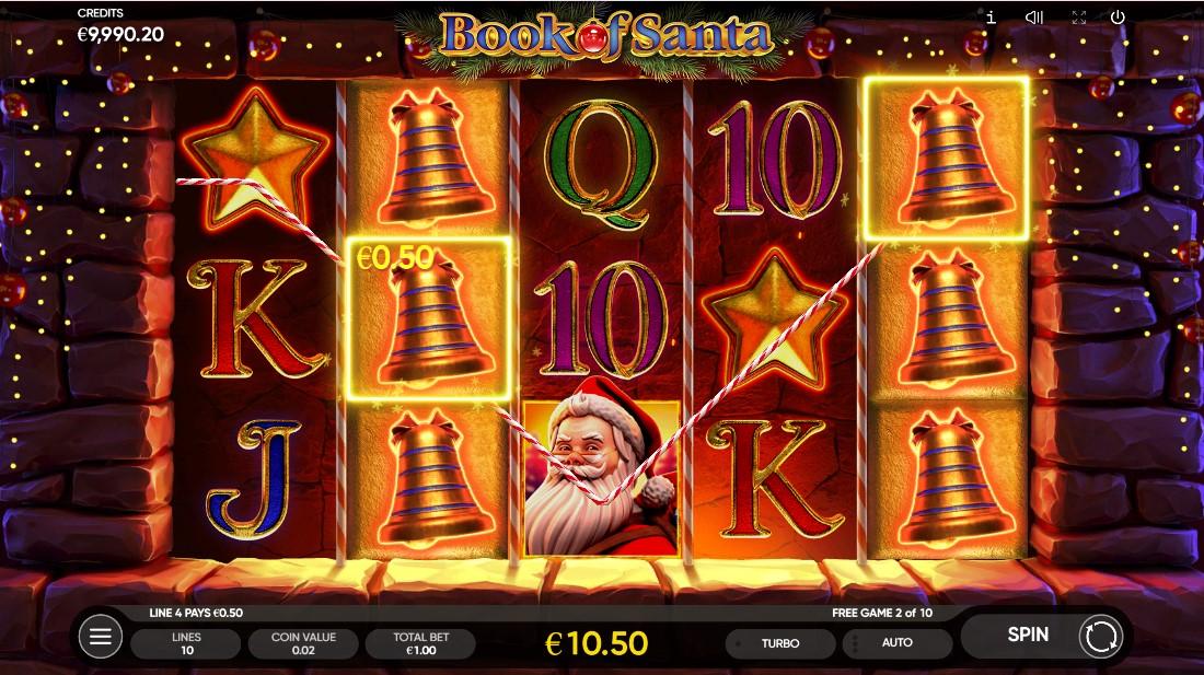 Игровой автомат Book of Santa