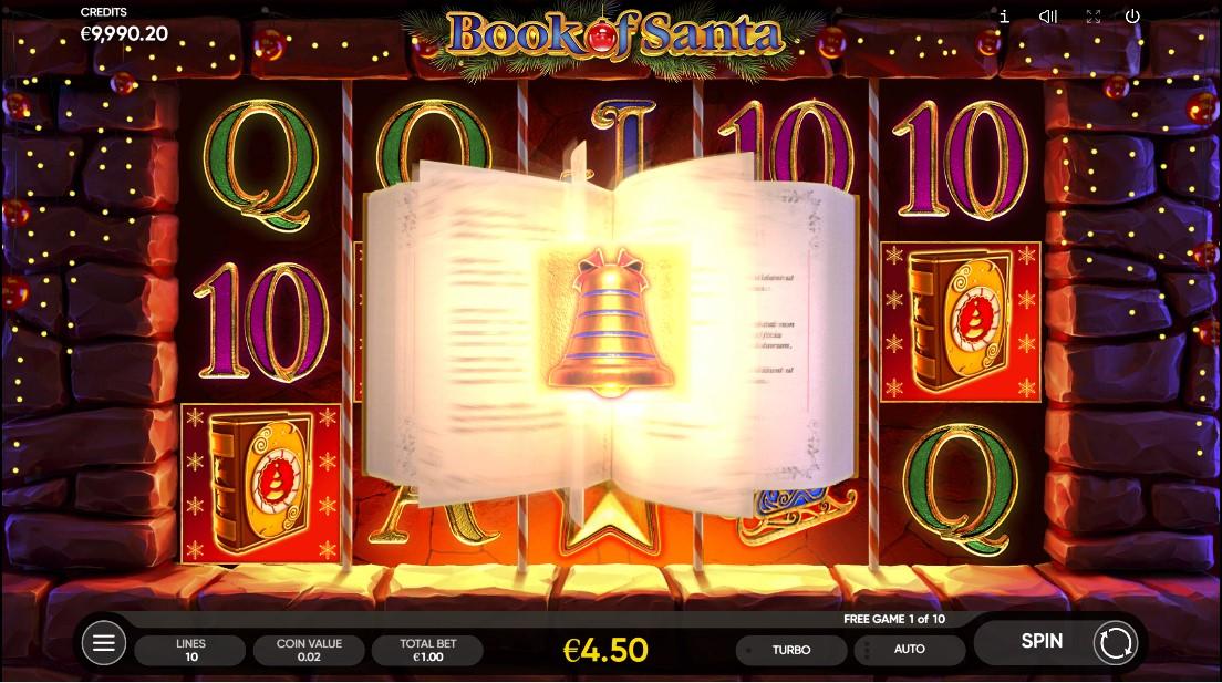 Слот Book of Santa играть онлайн