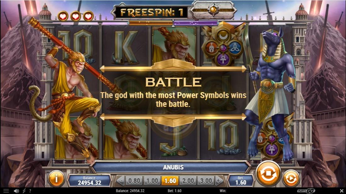 Divine Showdown бесплатный игровой автмоат