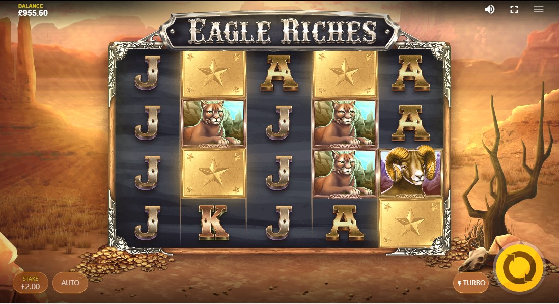 Слот онлайн Eagle Riches играть онлайн