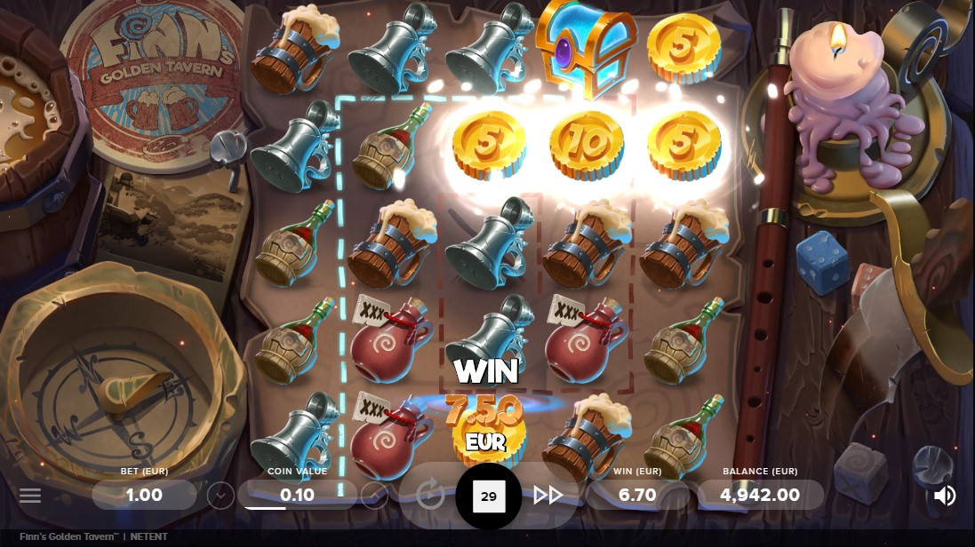 Слот играть онлайн Finn's Golden Tavern