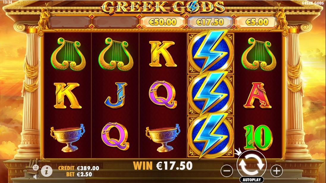 Играть онлайн Greek Gods