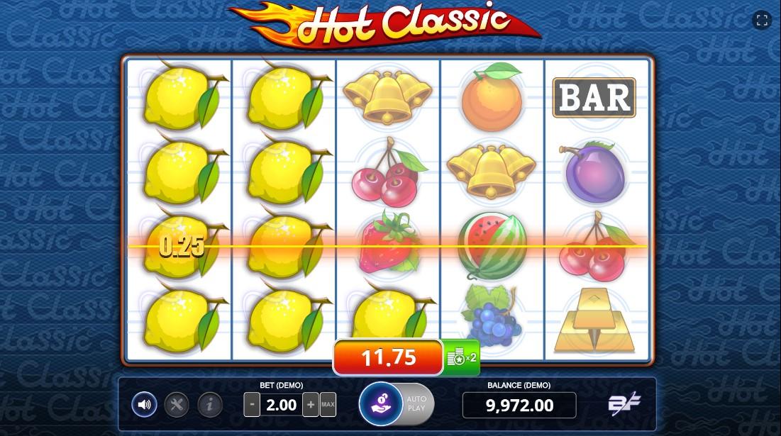 Слот Hot Classic играть