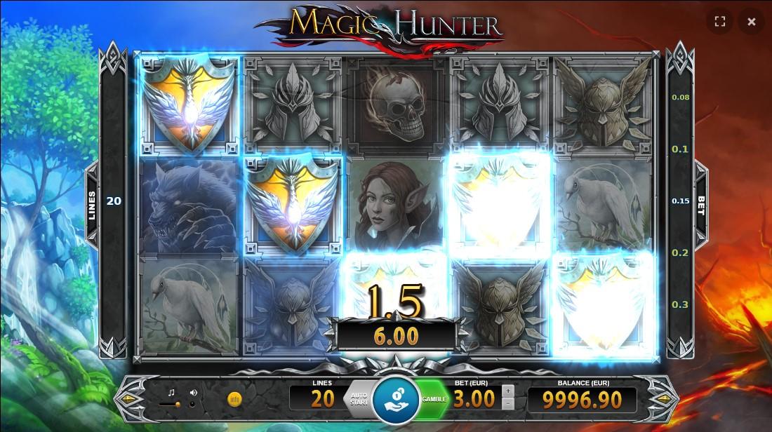 Онлайн слот Magic Hunter