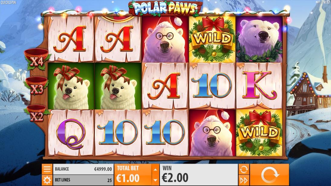 Polar Paws играть бесплатно