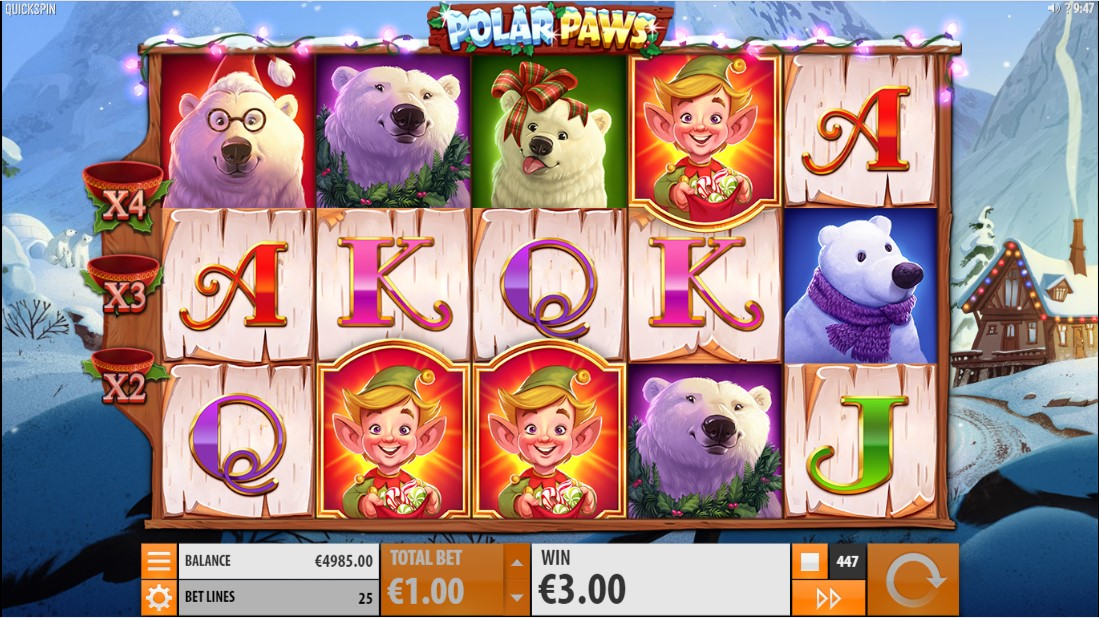 Онлайн слот Polar Paws играть бесплатно