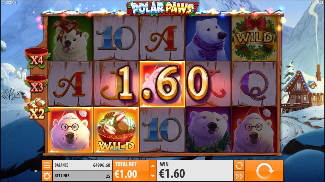 Polar paws полярные лапы игровой автомат