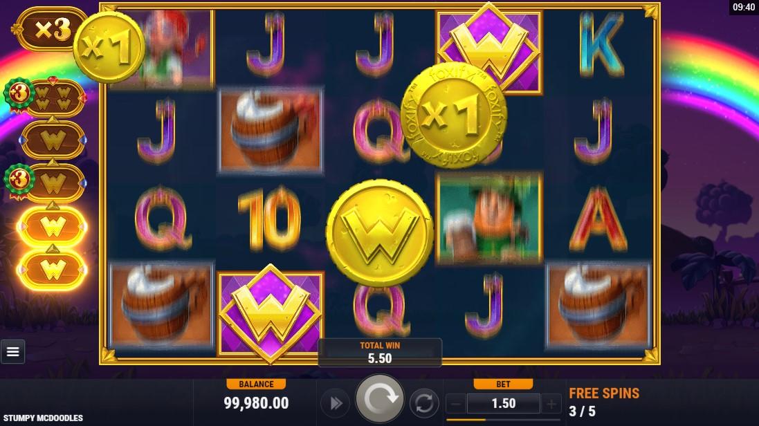 Игровой автомат Stumpy McDoodles