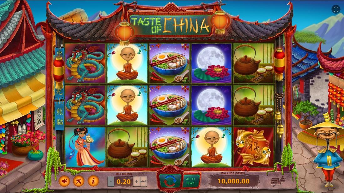 Онлайн слот Taste of China