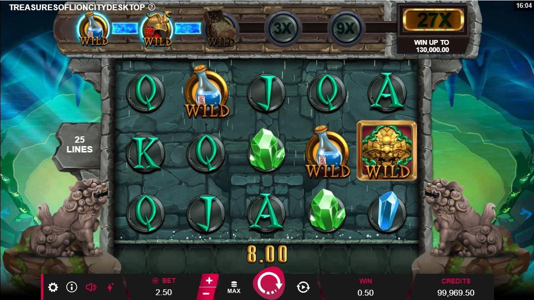 Игровой автомат Treasures of Lion City