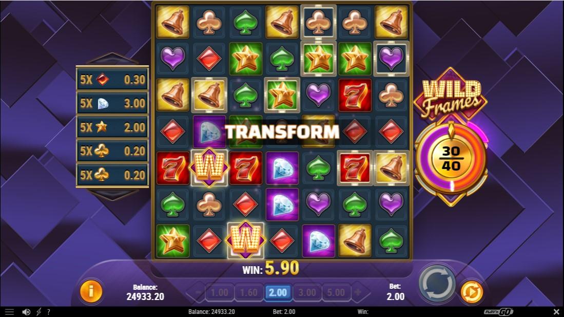 Игровой автомат Wild Frames