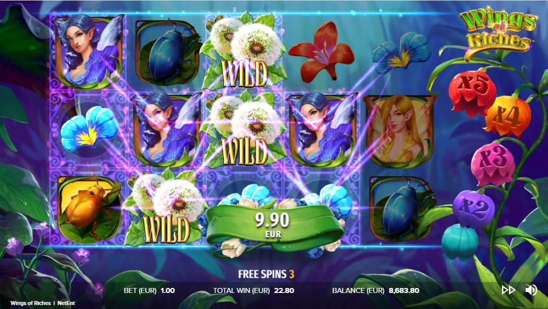Слот Wings of Riches играть бесплатно