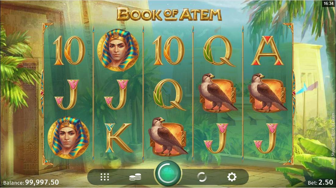 Слот Book of Atem играть бесплатно
