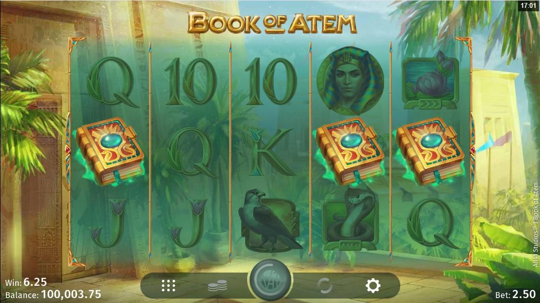 Играть бесплатно в слот Book of Atem
