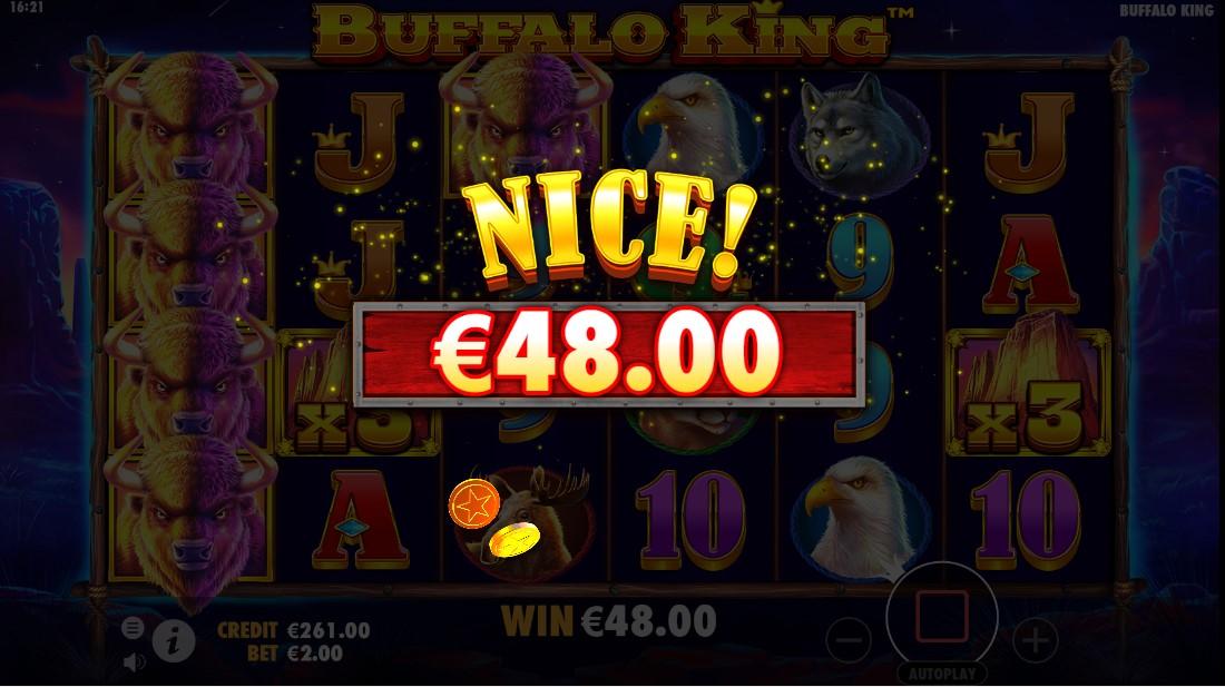 Ставка расчет buffalo king буфало кинг игровой автомат