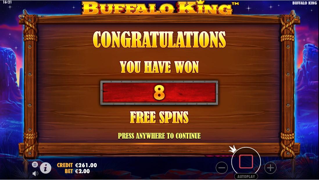 Онлайн слот Buffalo King