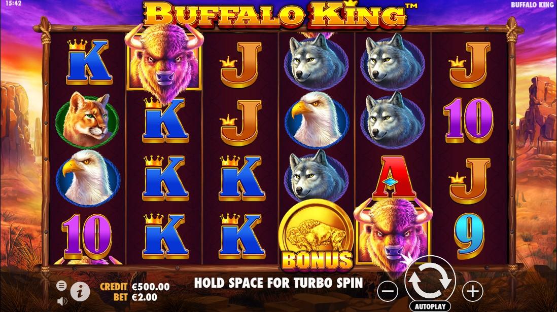 Buffalo King слот играть онлайн
