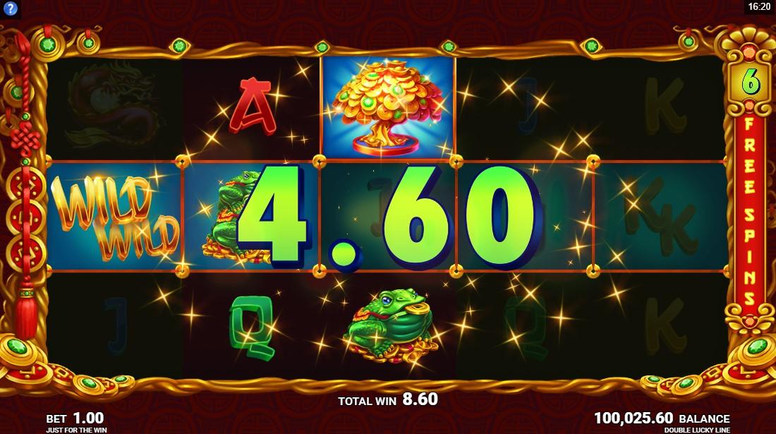 Играть бесплатно Double Lucky Line