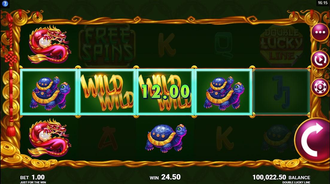 Онлайн слот Double Lucky Line