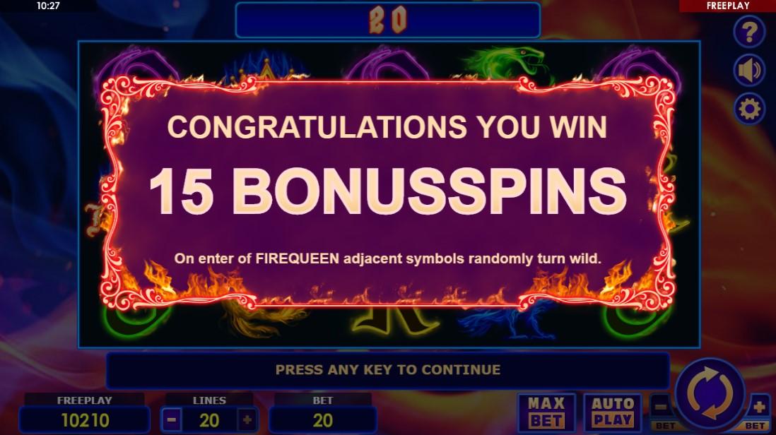 Игровой автомат Fire Queen