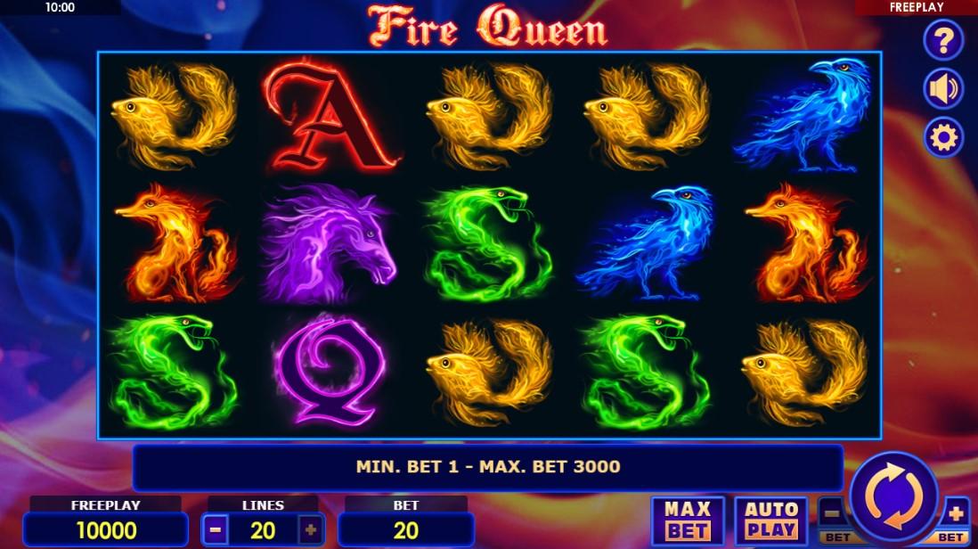 Бесплатный слот Fire Queen играть