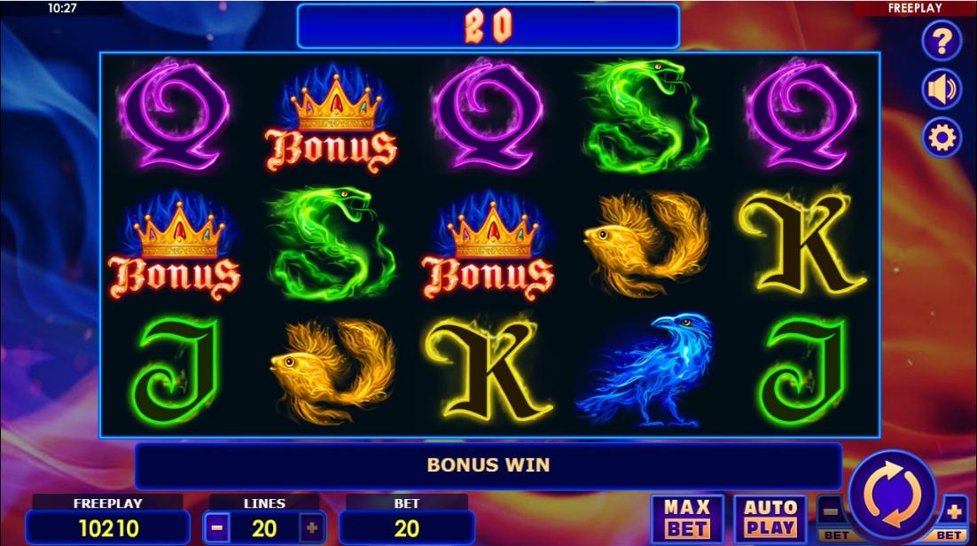 Fire Queen бесплатный игровой автомат