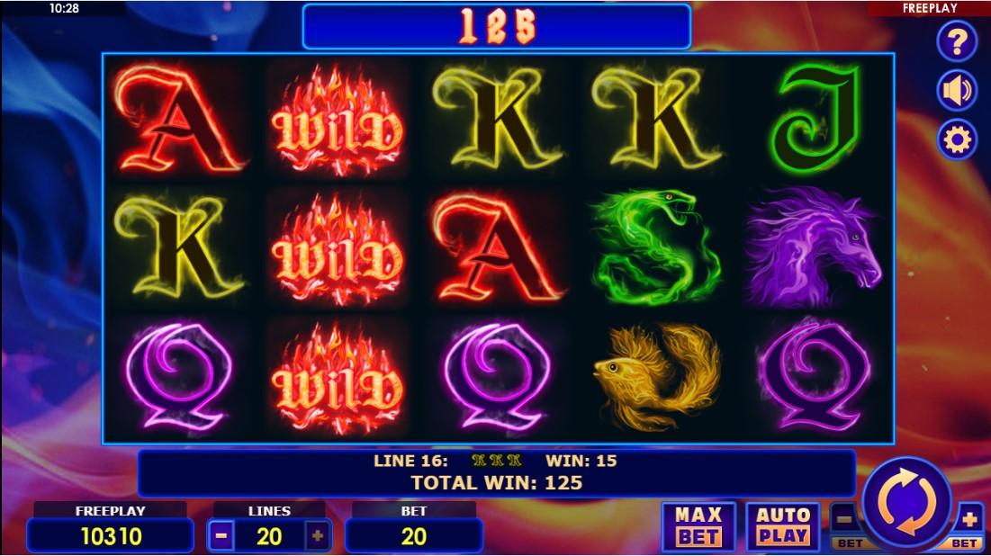 Слот Fire Queen играть онлайн