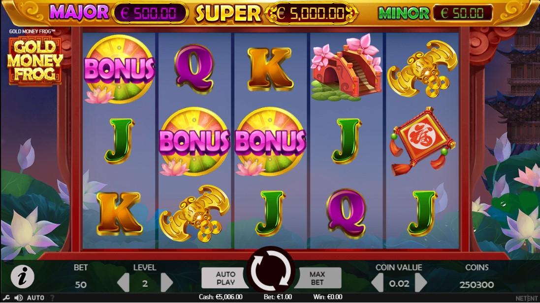 Gold Money Frog играть онлайн
