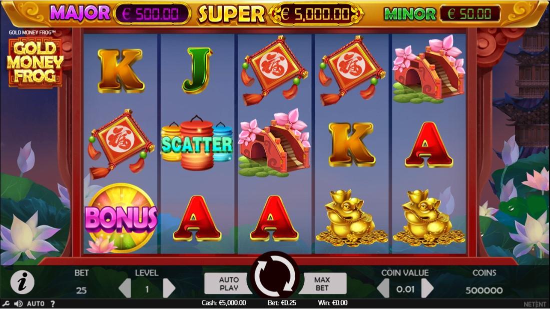 Слот Gold Money Frog играть онлайн