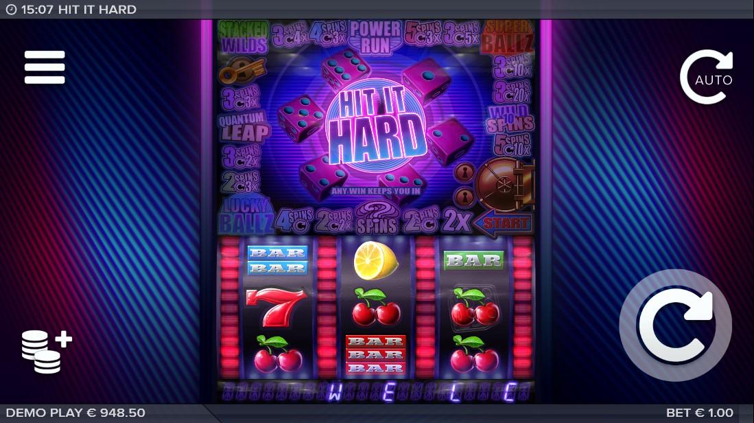 Играть онлайн Hit It Hard