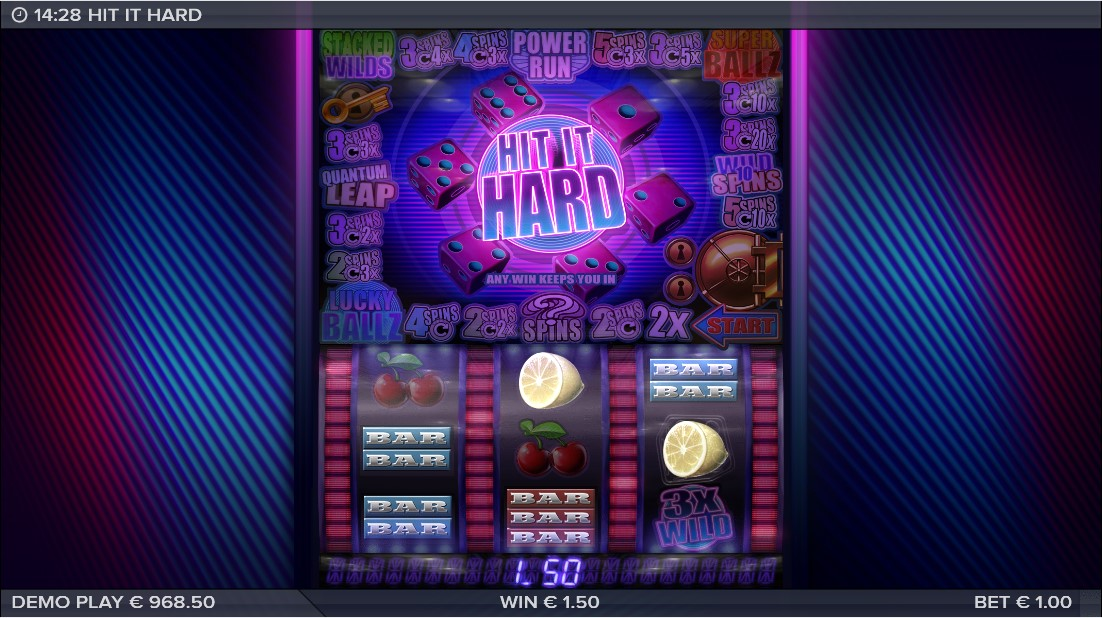 Слот Hit It Hard играть бесплатно