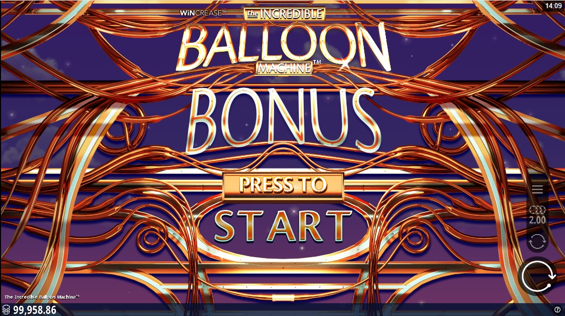Бесплатный игровой автомат Incredible Balloon Machine