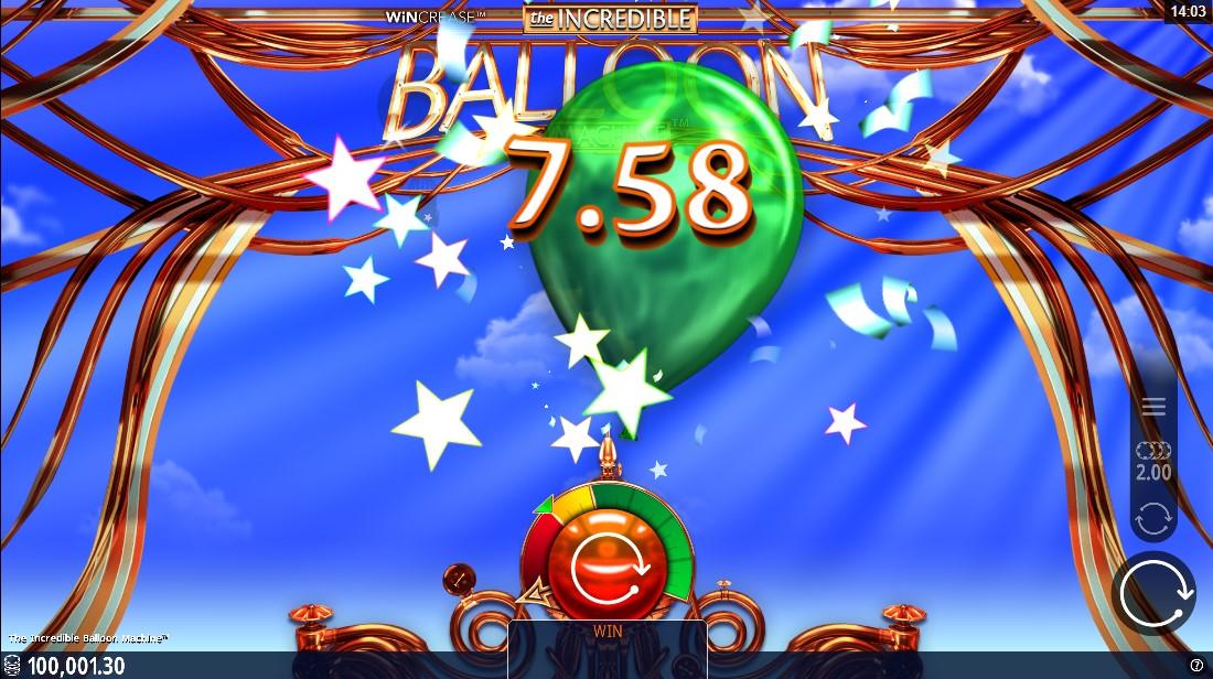 Игровой автомат Incredible Balloon Machine