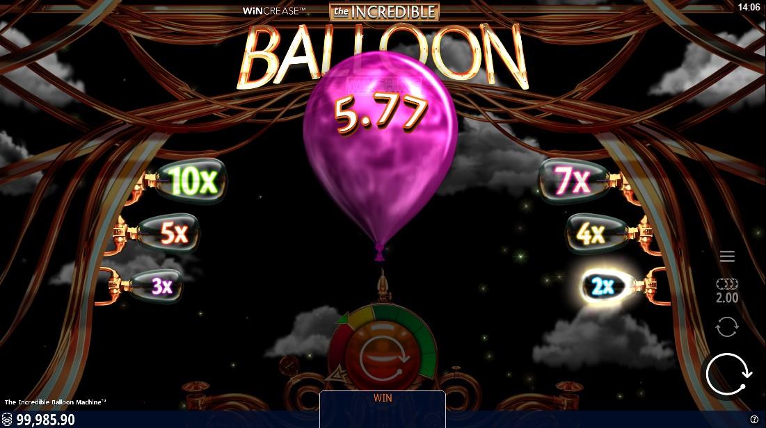 Incredible Balloon Machine онлайн слот