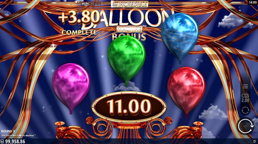 Онлайн слот Incredible Balloon Machine