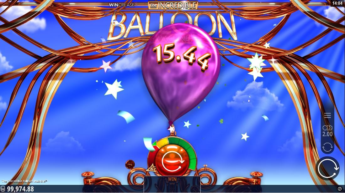 Слот Incredible Balloon Machine играть бесплатно