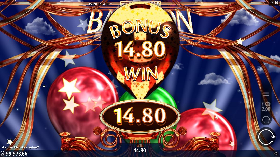 Слот Incredible Balloon Machine играть онлайн